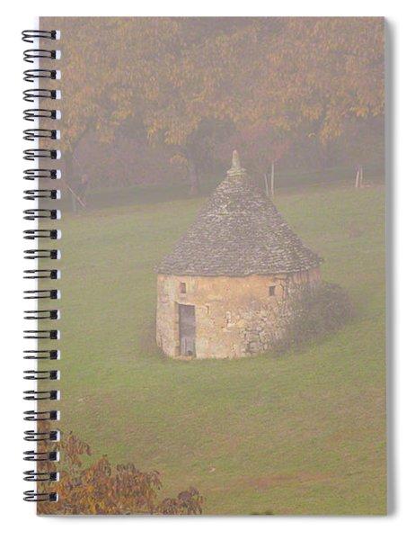 Walnut Farmers, Beynac, France Spiral Notebook
