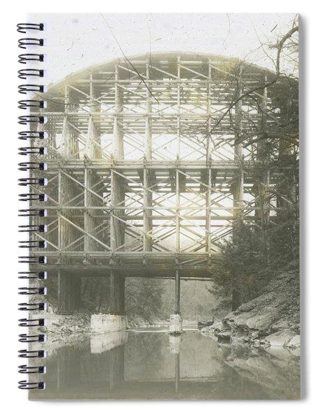 Walnut Lane Bridge Spiral Notebook