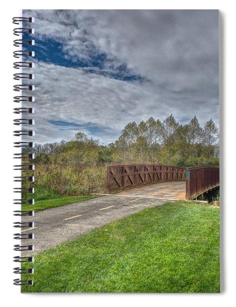 Walnut Woods Bridge - 1 Spiral Notebook