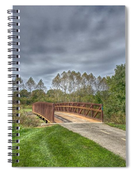 Walnut Woods Bridge - 2 Spiral Notebook