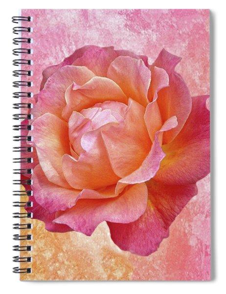 Warm And Crunchy Rose Spiral Notebook