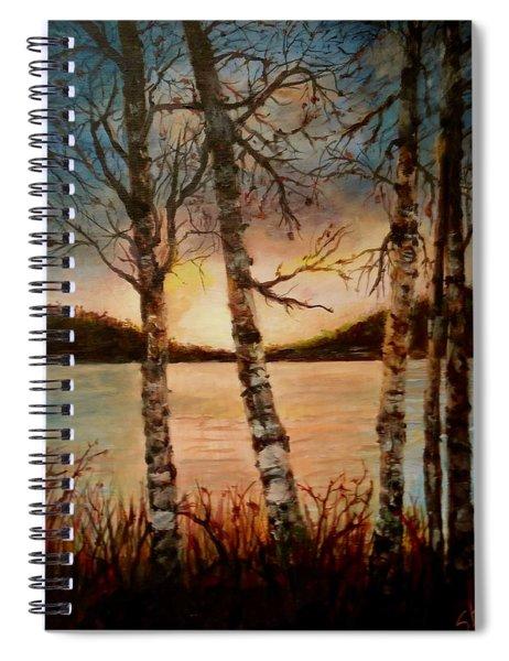 Warm Fall Day Spiral Notebook