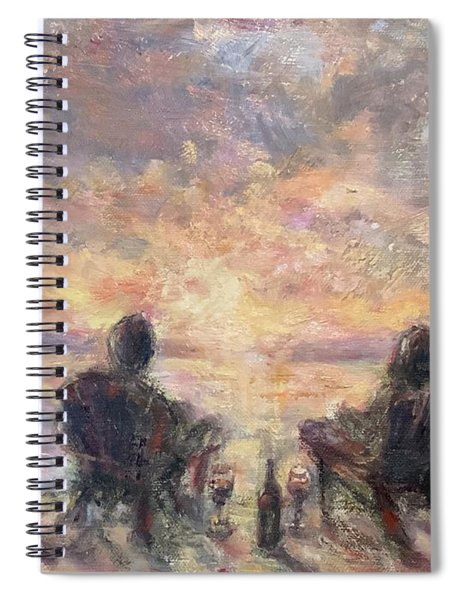 Warm Sample 2 Spiral Notebook