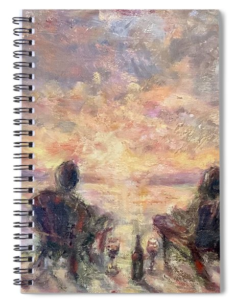 Warm Sample Spiral Notebook