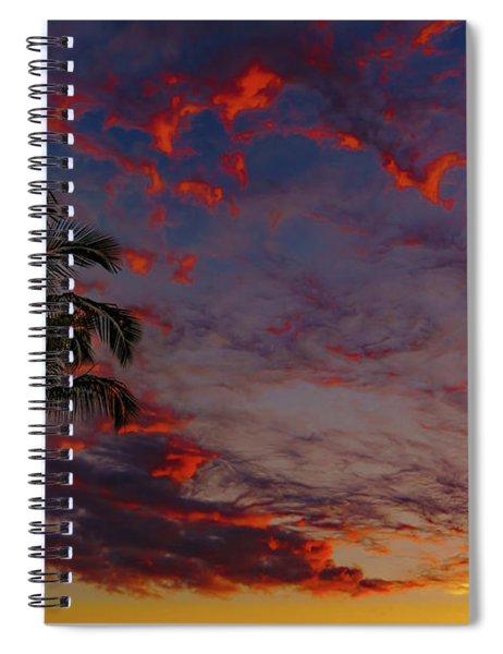 Warm Sky Spiral Notebook