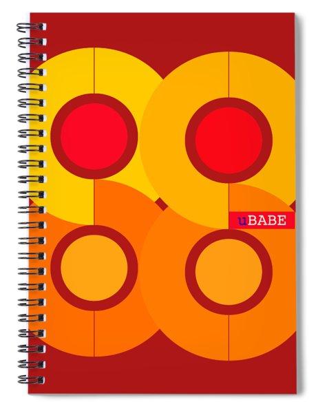 Warm Style Spiral Notebook
