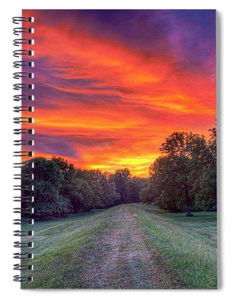 Warm Summer Night Spiral Notebook