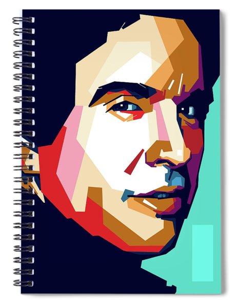 Warren Beatty Spiral Notebook