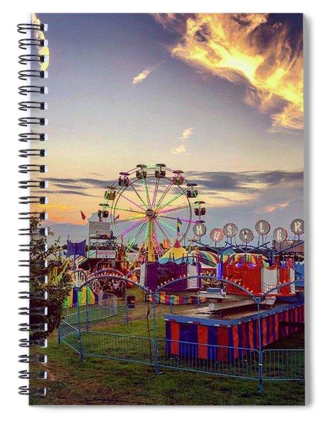 Warren County Fair Spiral Notebook