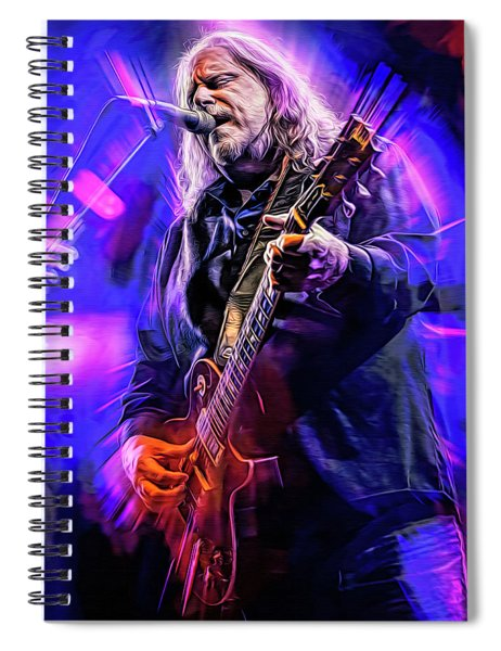 Warren Haynes, The Allman Brothers Spiral Notebook