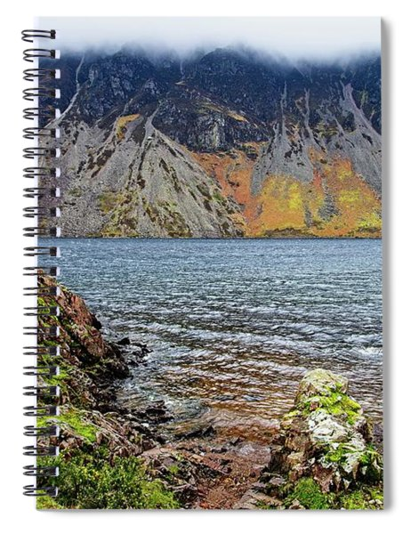 Wast Water Screes Lake District  Spiral Notebook