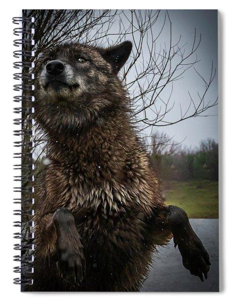 Watch The Eyes Spiral Notebook