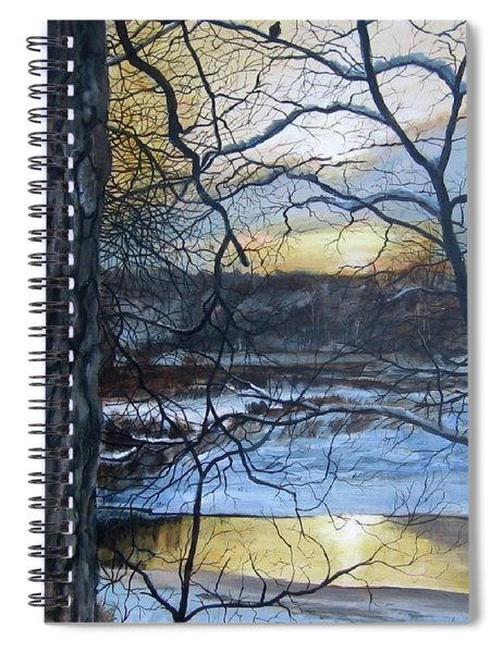 Watcher Spiral Notebook