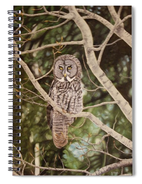 Watchful Spiral Notebook
