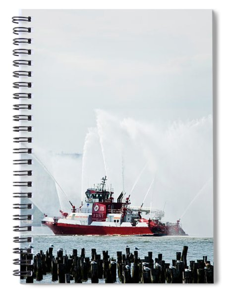 Water Boat Spiral Notebook