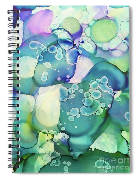 Water Cells Spiral Notebook