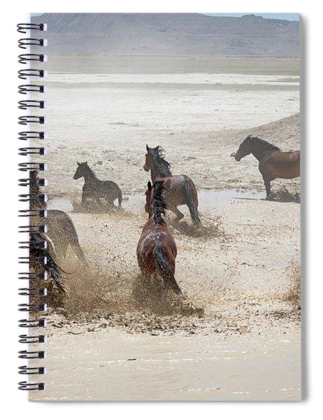 Water Hole Spiral Notebook