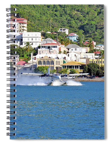 Water Launch Spiral Notebook