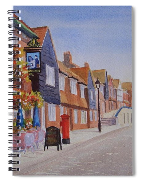 Watercolour Folkestone Harbour Spiral Notebook