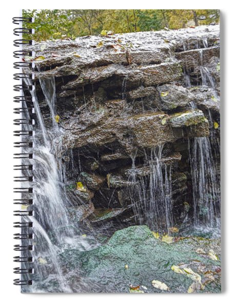 Waterfall @ Sharon Woods Spiral Notebook