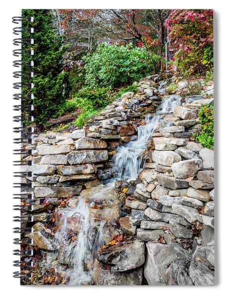 Waterfall - Helen Spiral Notebook