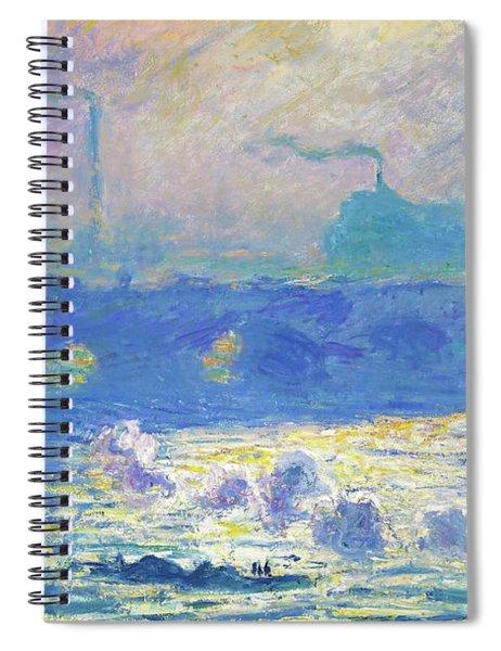 Waterloo Bridge - Digital Remastered Edition Spiral Notebook
