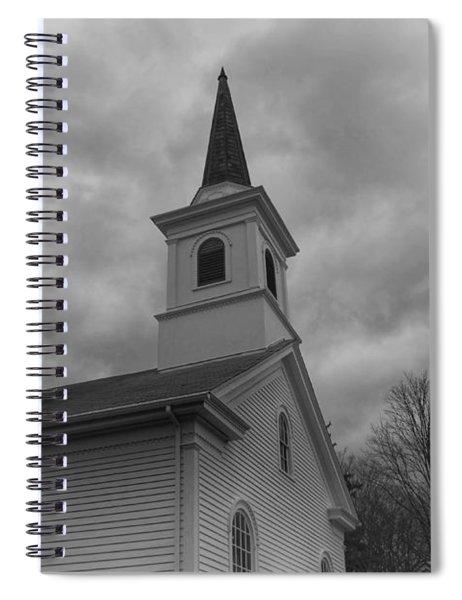 Waterloo United Methodist Church - Detail Spiral Notebook