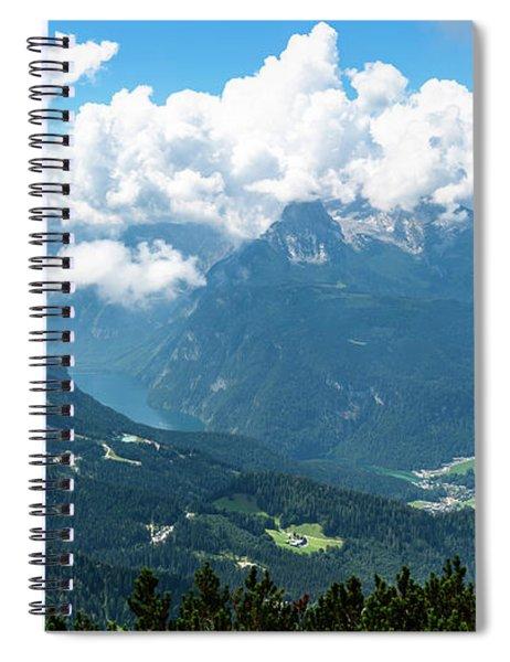 Watzmann And Koenigssee, Bavaria Spiral Notebook