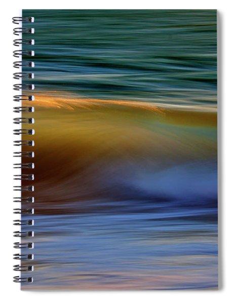 Wave Abstact Spiral Notebook