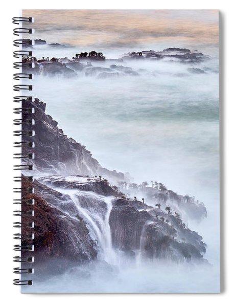 Wave Falls Spiral Notebook
