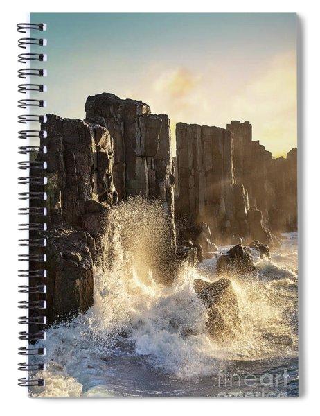 Wave Force Spiral Notebook