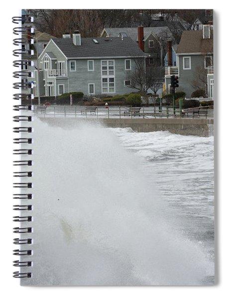 Wave Surprise Spiral Notebook