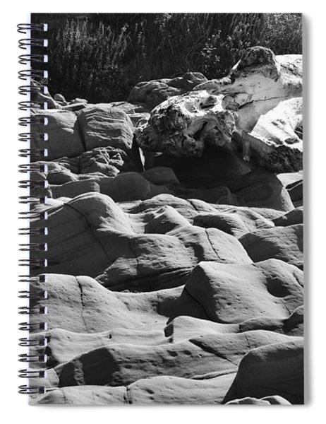 Waves Spiral Notebook