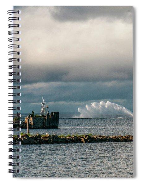 Wawatam Lighthouse Spiral Notebook