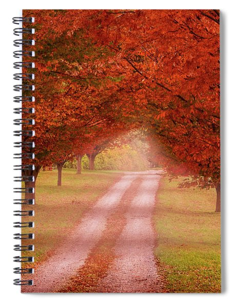 Way To The Farm Spiral Notebook