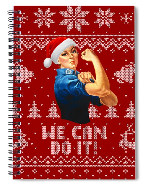 We Can Do It Spiral Notebook