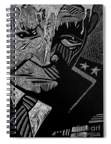 Weary Warrior. Spiral Notebook