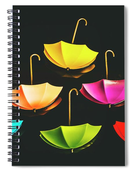 Weather Or Not Spiral Notebook