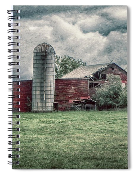 Weathered Worn And Standing Strong Spiral Notebook