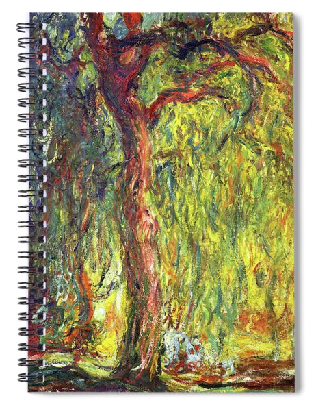 Weeping Willow - Digital Remastered Edition Spiral Notebook