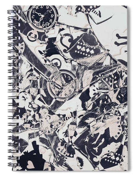 Welcome To Mirror World Spiral Notebook