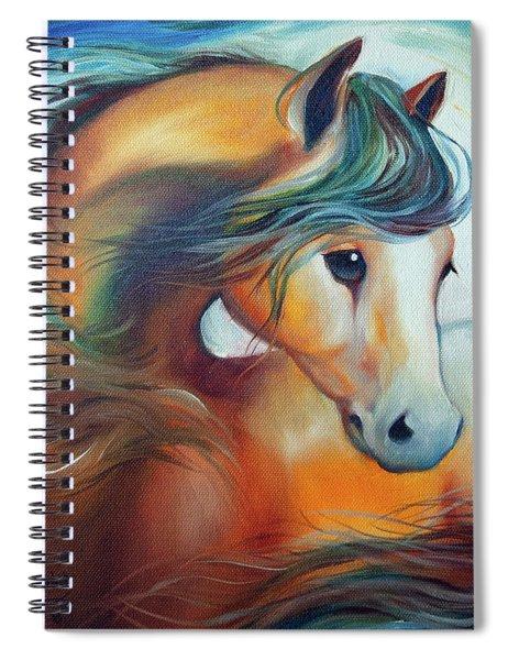 Wendy My Horse Spiral Notebook