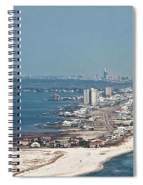 West Beach-1 Spiral Notebook