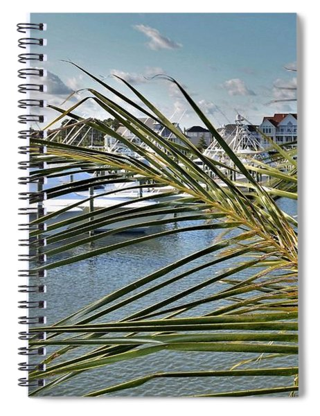West Ocean City Marina Spiral Notebook