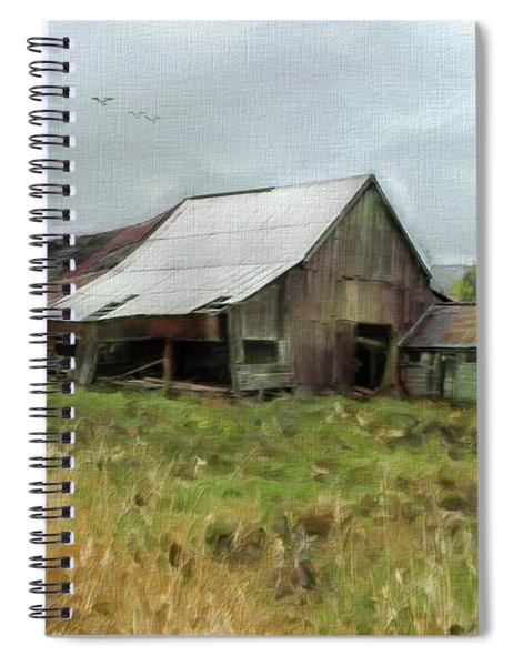 Western Barn Spiral Notebook
