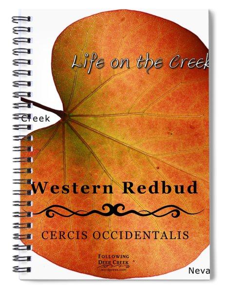 Western Redbud Spiral Notebook