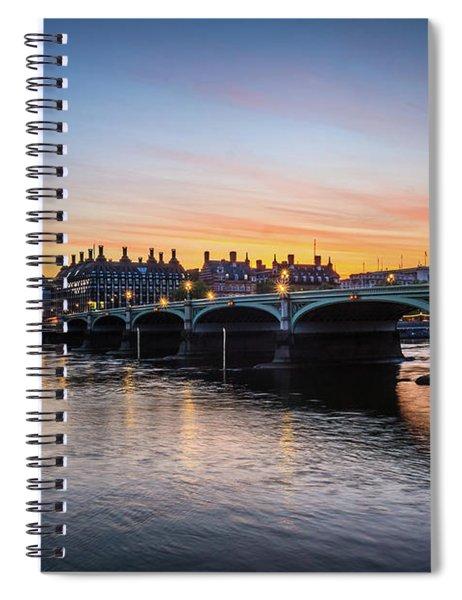 Westminster Sunset Spiral Notebook