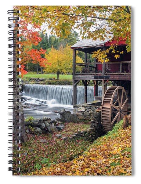 Weston Vermont - Grist Mill Spiral Notebook