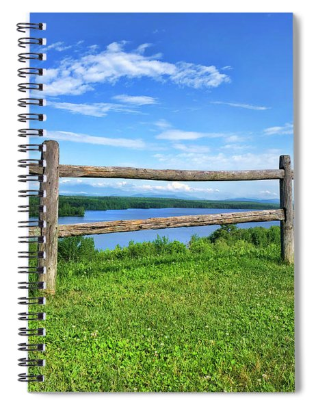 What A View By Diana Raquel Sainz Spiral Notebook