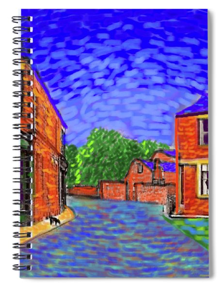What If...vincent Went To Gildersome Spiral Notebook